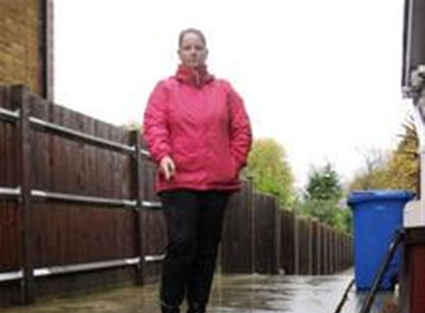 More flooding woe for family