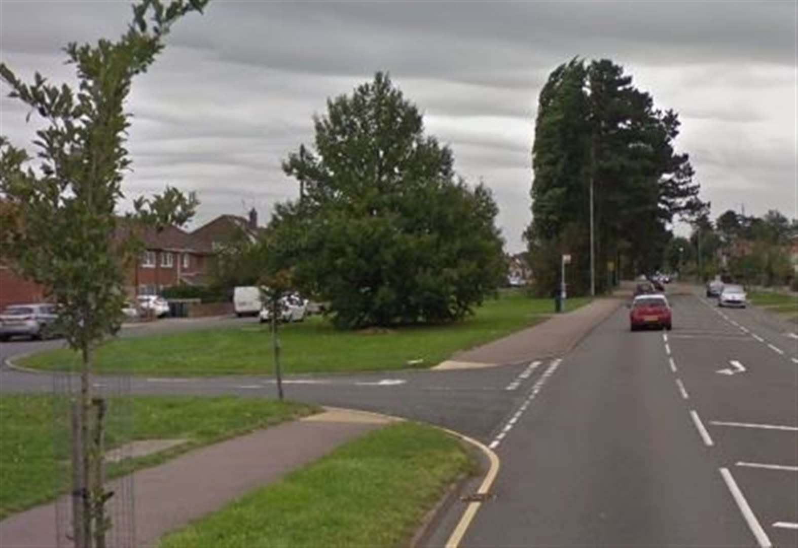 Biker in serious condition after crash with car