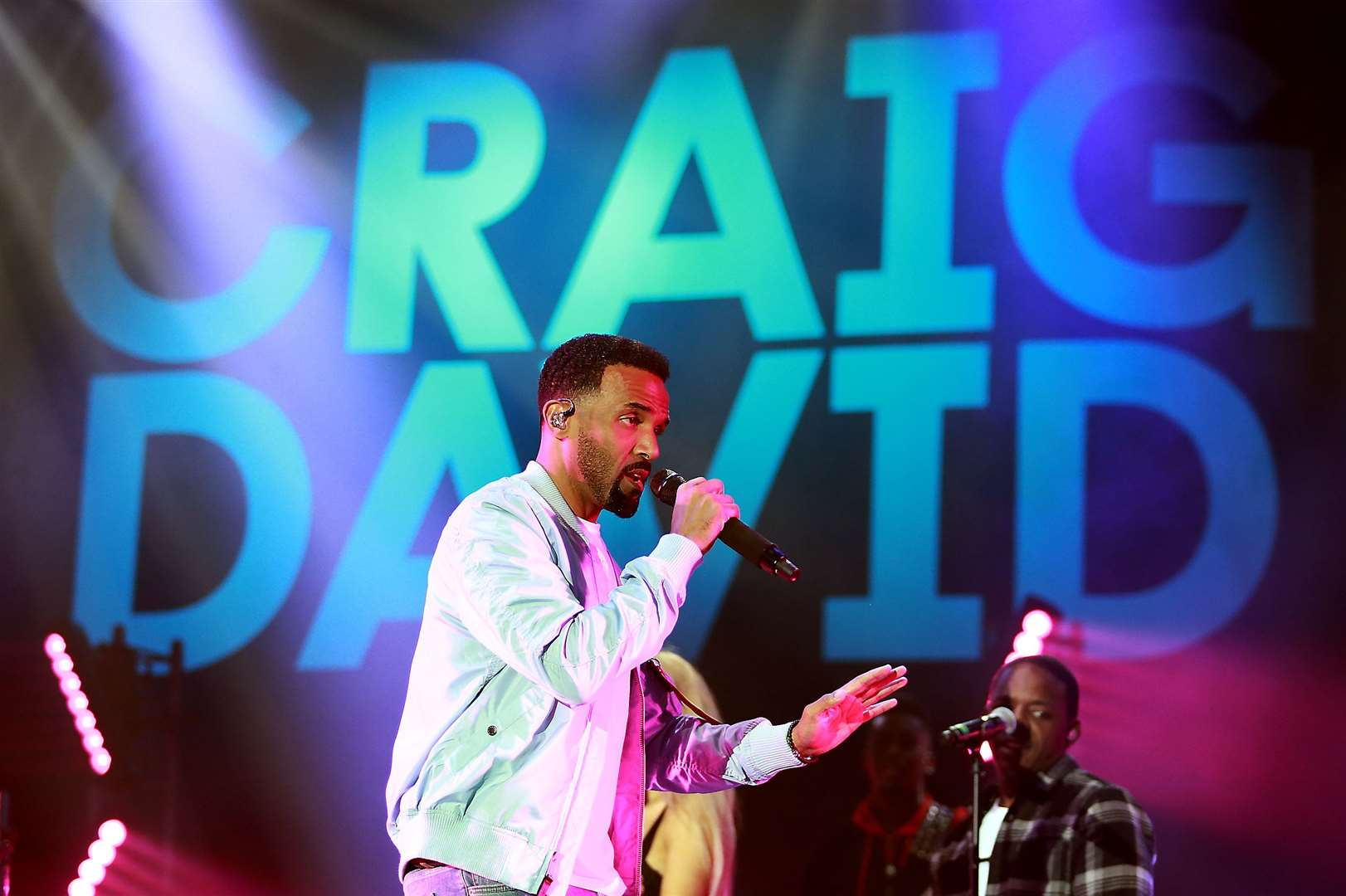 Craig David sang a range a new and old tracks