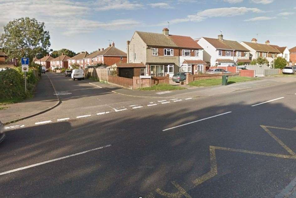 The girl was struck in Watling Street, near the junction with Meadow Way