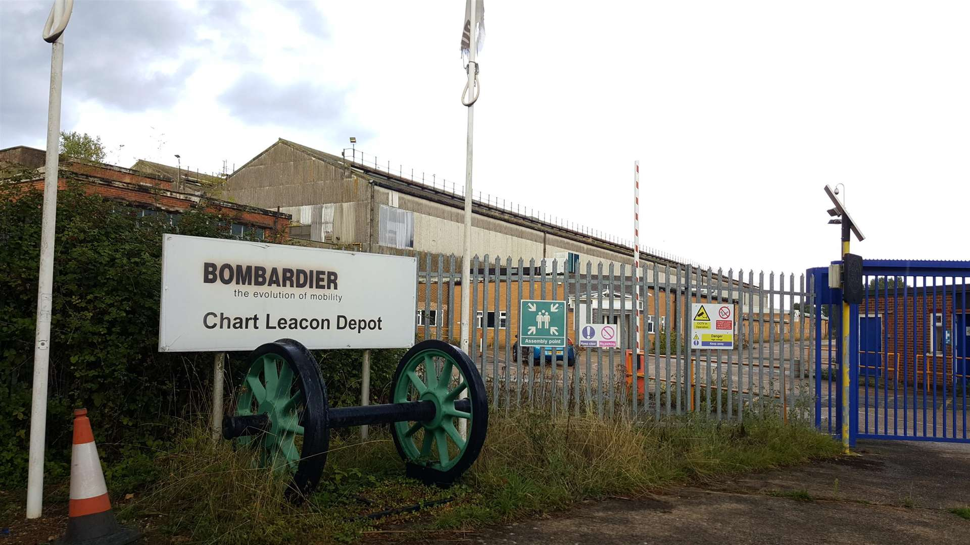 Disused Train Depot Chart Leacon In Ashford To Reopen