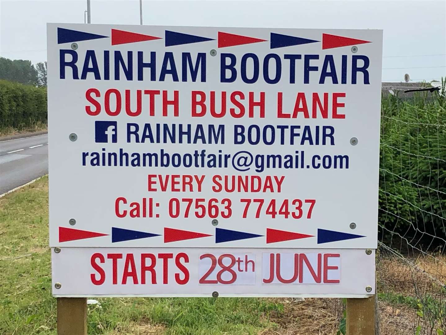 Rainham Bootfair plans to expand on its current offering in South Bush Lane with a wider programme of events