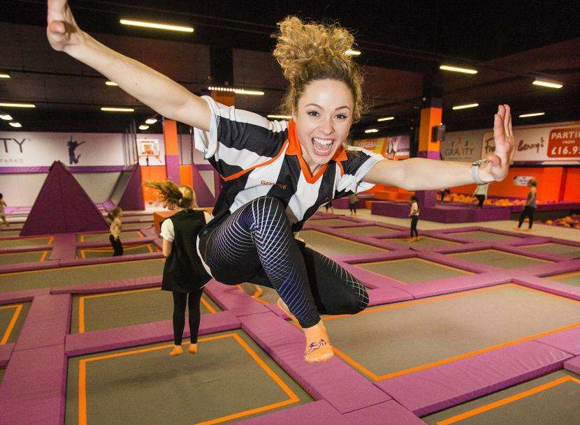 GraVity will open a trampoline park at Bluewater