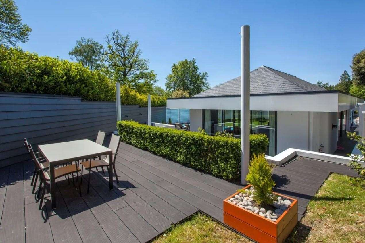 The property even has a rainwater harvest system. Picture: Zoopla / Knight Frank