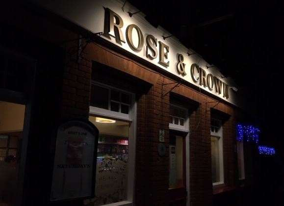 The Rose & Crown has a car park on the left hand side of the pub, as you walk round the front you need to look for door number three