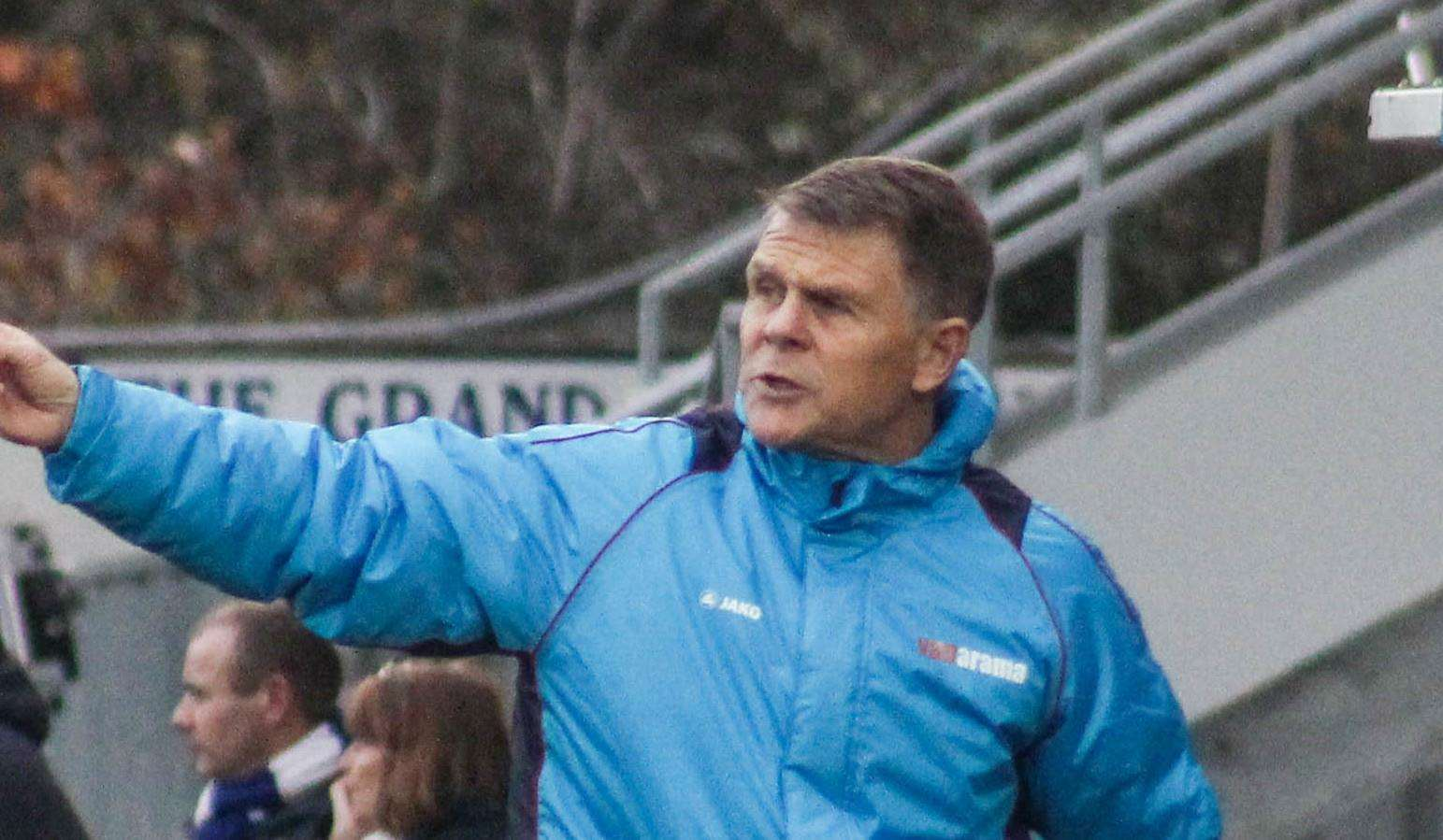 Dover boss Andy Hessenthaler. Picture: Tom Mulholland