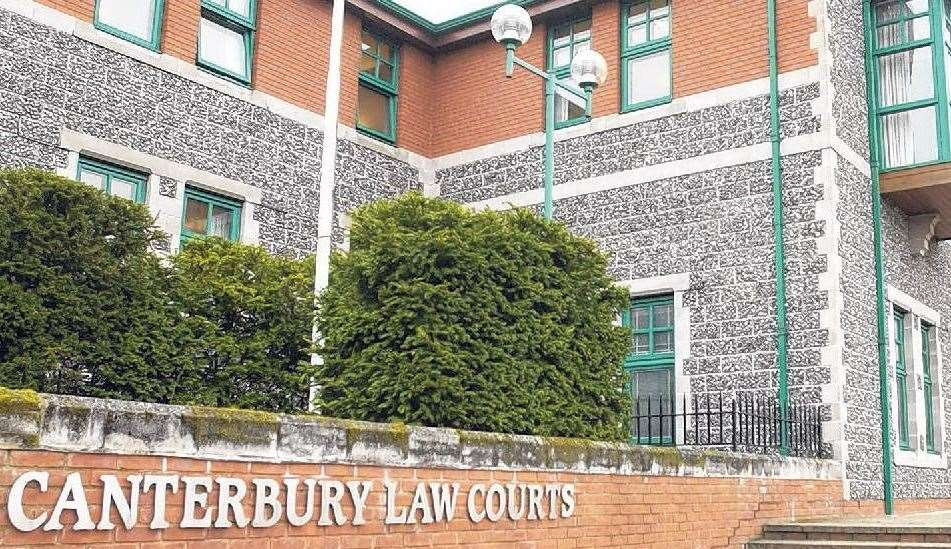 The trial is taking place at Canterbury Crown Court