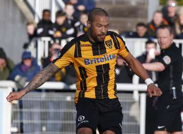 Ross Lafayette has extended his loan Picture: Andy Jones
