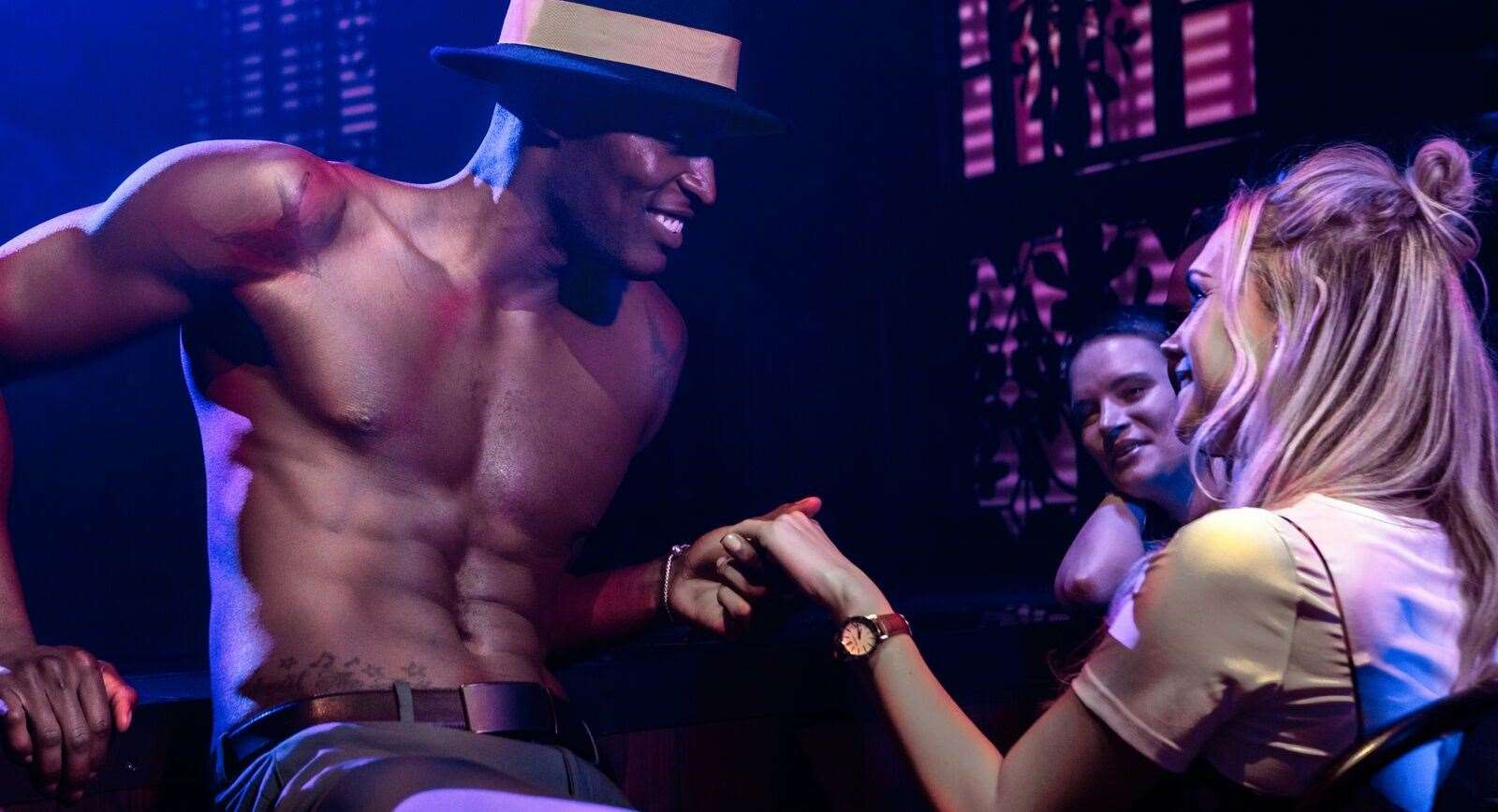 Attendees 18 years and older are invited to enter Magic Mike's mythical club.