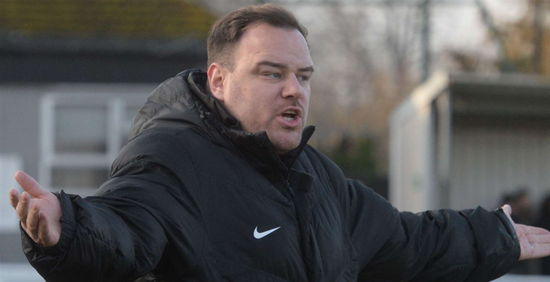 Herne Bay manager Ben Smith