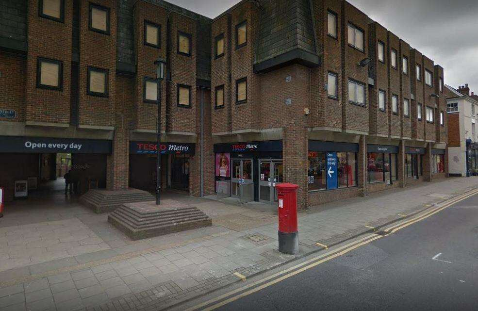 Tesco Metro in Sevenoaks is set to close on Saturday, October 27. Picture: Google
