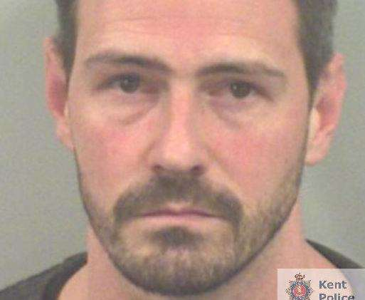 Brett Connell has been jailed for nine years for sexually abusing his stepdaughter Georgia Walsh. Picture: Kent Police