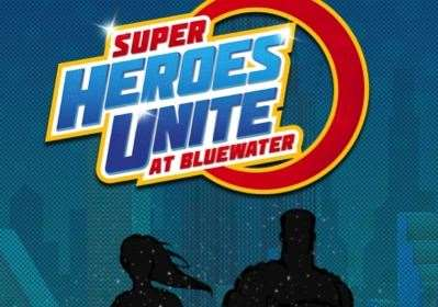 Children can meet their favourite superheroes at Bluewater this half term