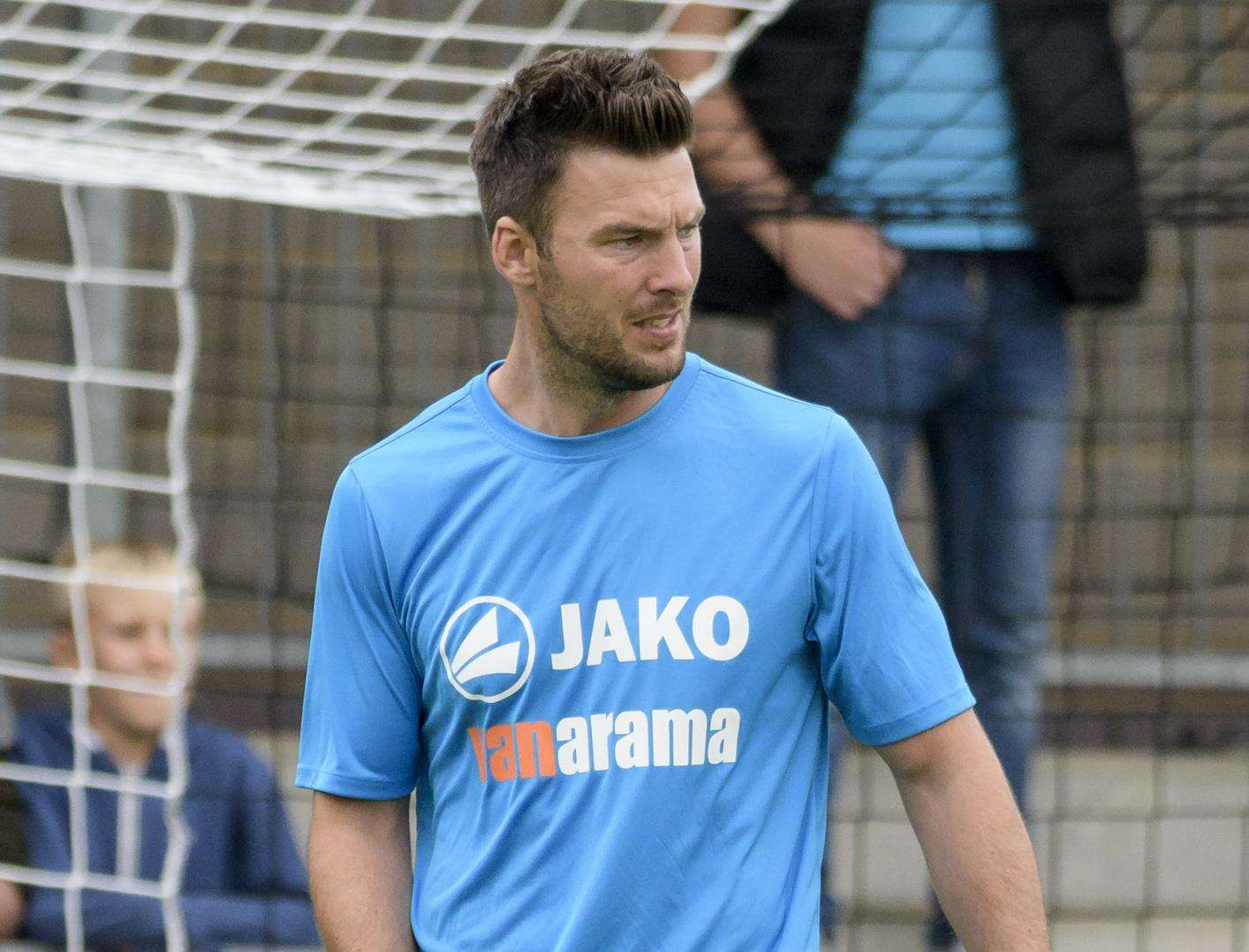 Dartford joint-manager Jamie Coyle Picture: Andy Payton