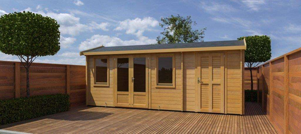 "Shaun Thompson: ""Garden buildings can add thousands of pounds to the value of a property and it's no surprise that business has been booming in our industry."""