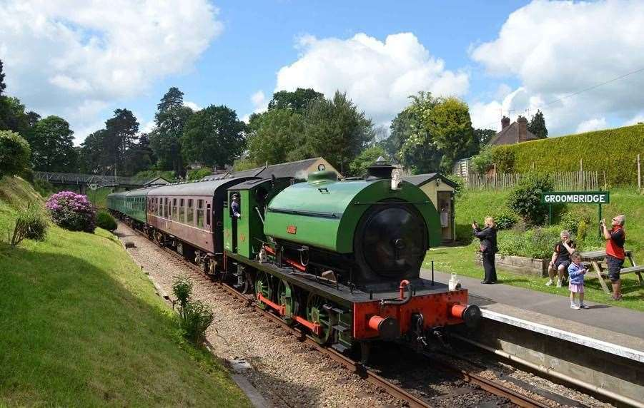 Take a trip with the Spa Valley Railway, Tunbridge Wells