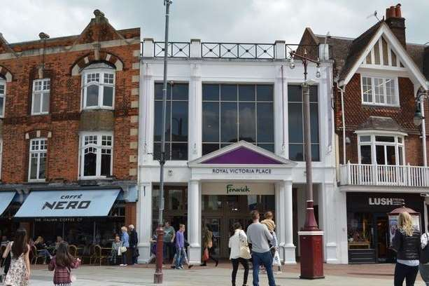 The Royal Victoria Place shopping centre in Tunbridge Wells