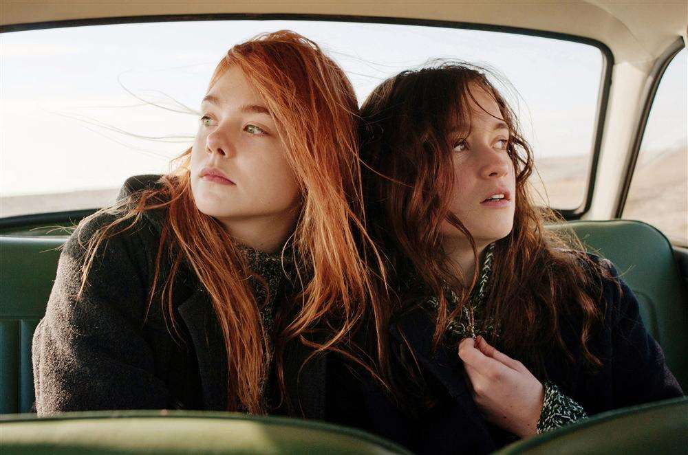 Elle Fanning and Alice Englebert in Ginger and Rosa.
