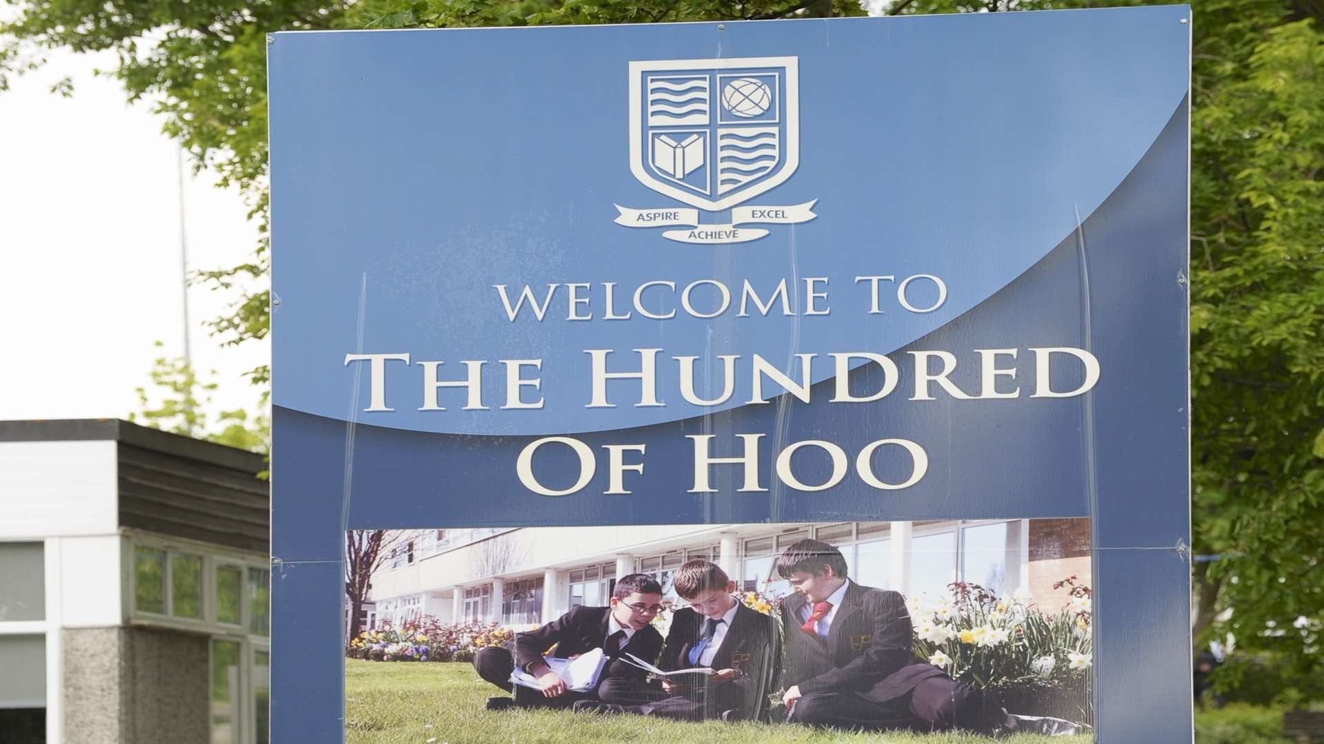 Gary Vyse was in charge of the Hundred of Hoo school