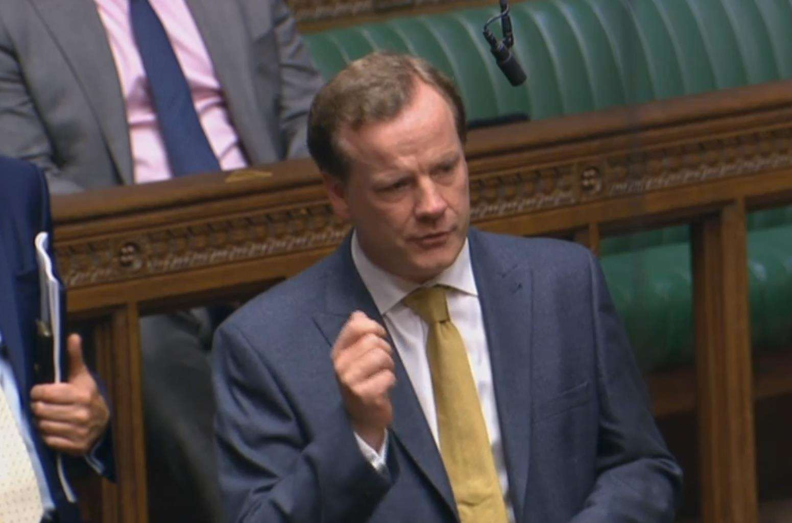 "Charlie Elphicke: ""Drug related deaths have doubled."" Picture supplied by the office of Charlie Elphicke"