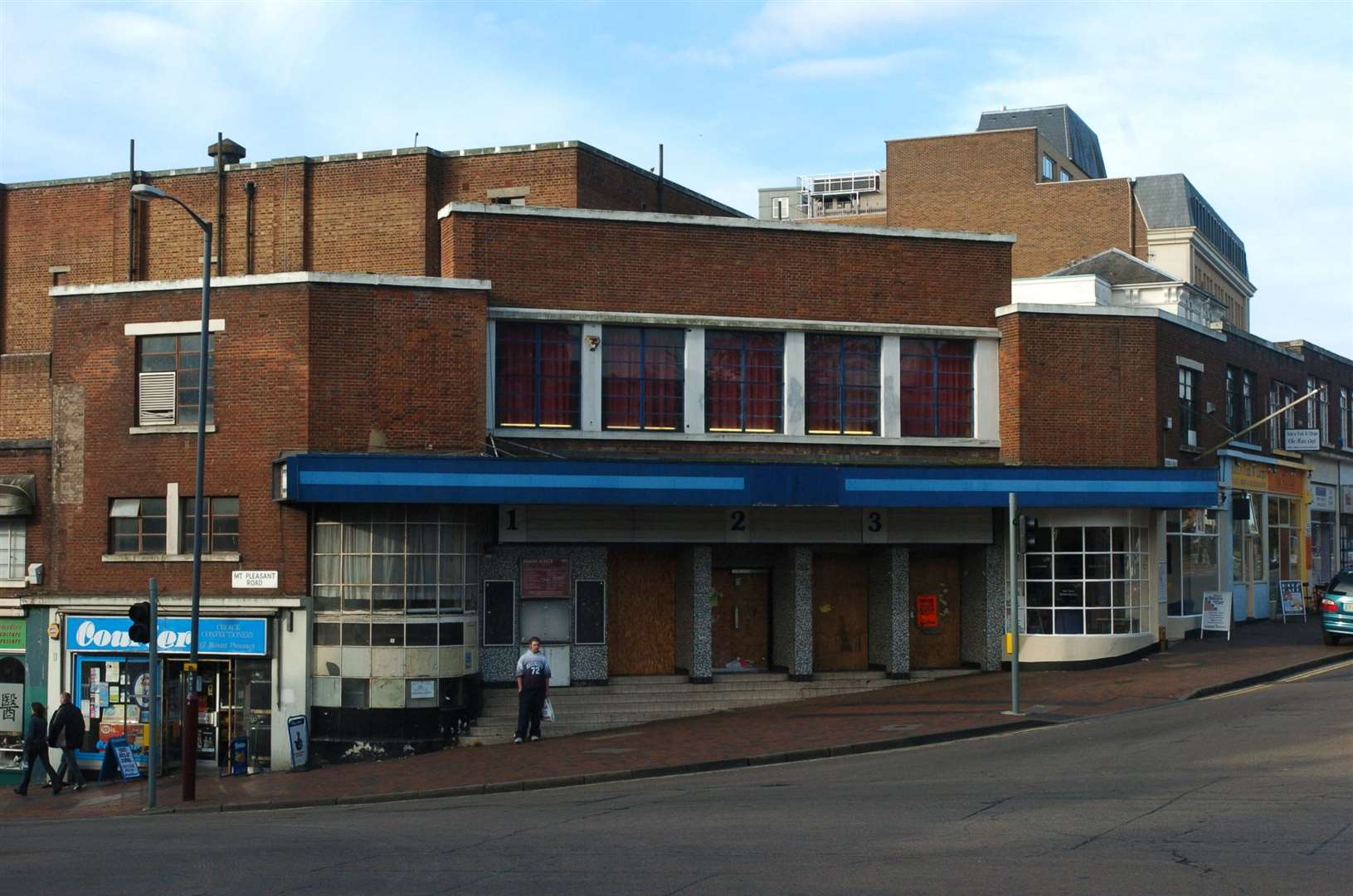 The much loved old ABC Cinema in Tunbridge Wells - now demolished