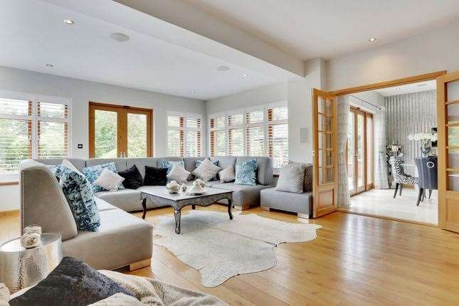 The living room area. Picture: Zoopla / Fine & Country