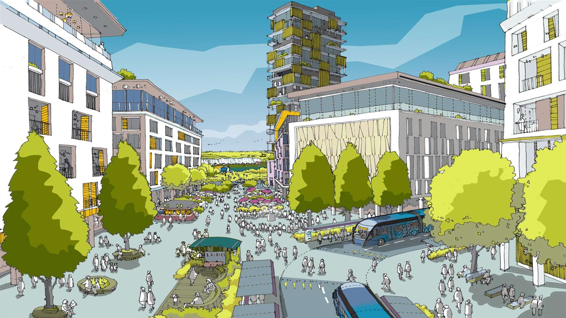 Ebbsfleet Garden City Masterplan And Images Revealed
