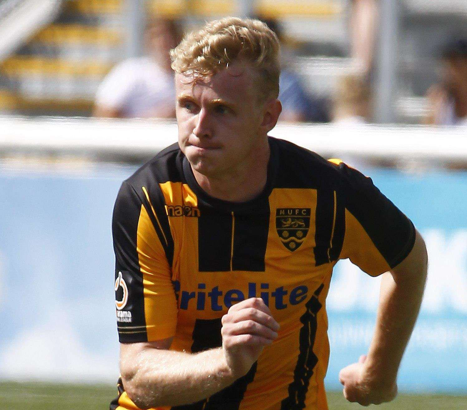 George McLennan had been out of favour at Maidstone Picture: Sean Aidan