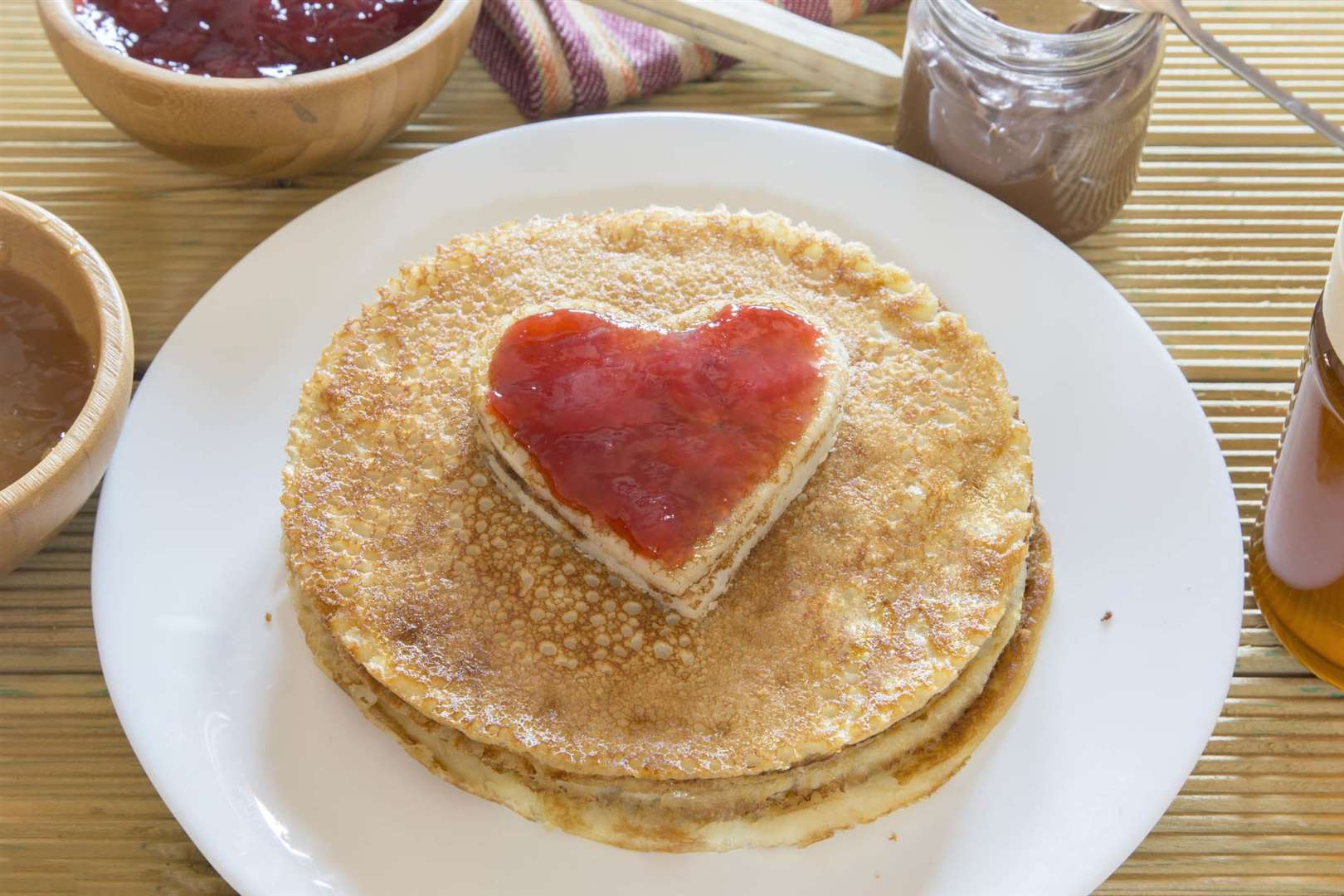 What topping do you like best on your pancakes?