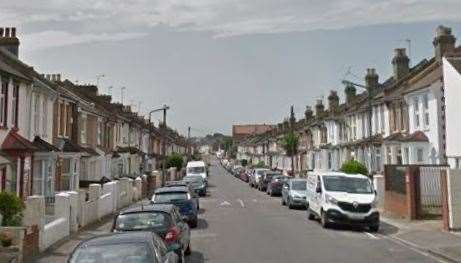 The man was found dead at an address in Gordon Road, Strood. Picture: Google Maps