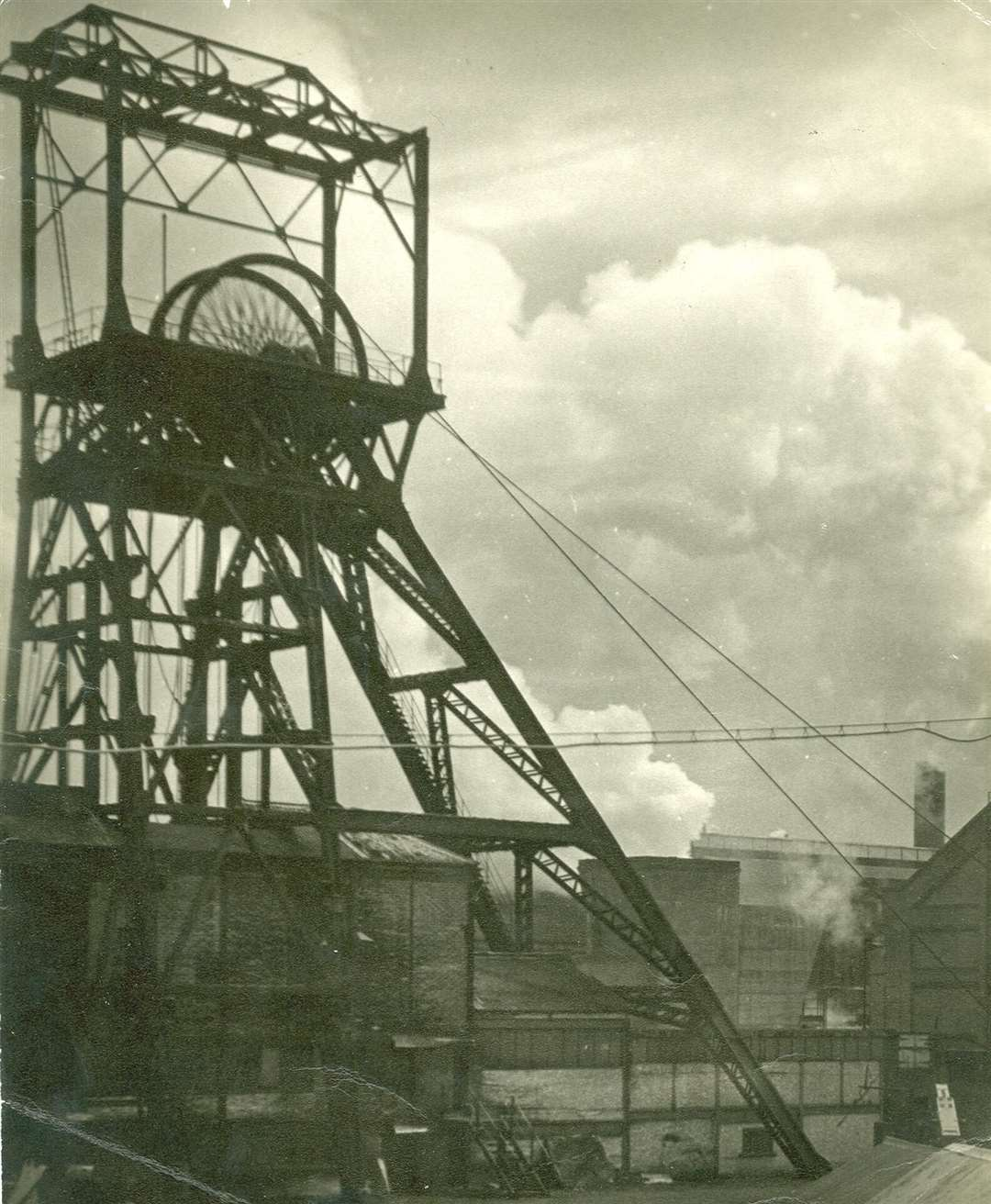 Betteshanger colliery pit head