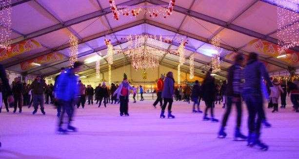 Ice skating is coming to Dane John Gardens in Canterbury
