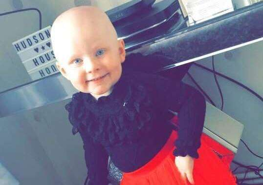 Lilly Hudson, 3, was diagnosed with terminal cancer