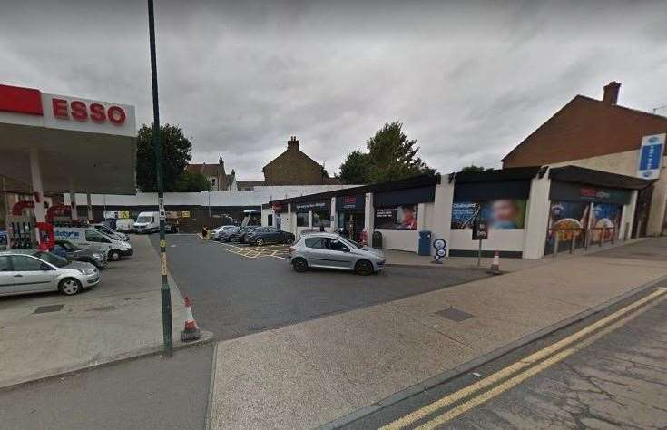 Michael Terry has been charged with GBH and three counts of assault after an attack at the Tesco Express store in Strood. Picture: Google