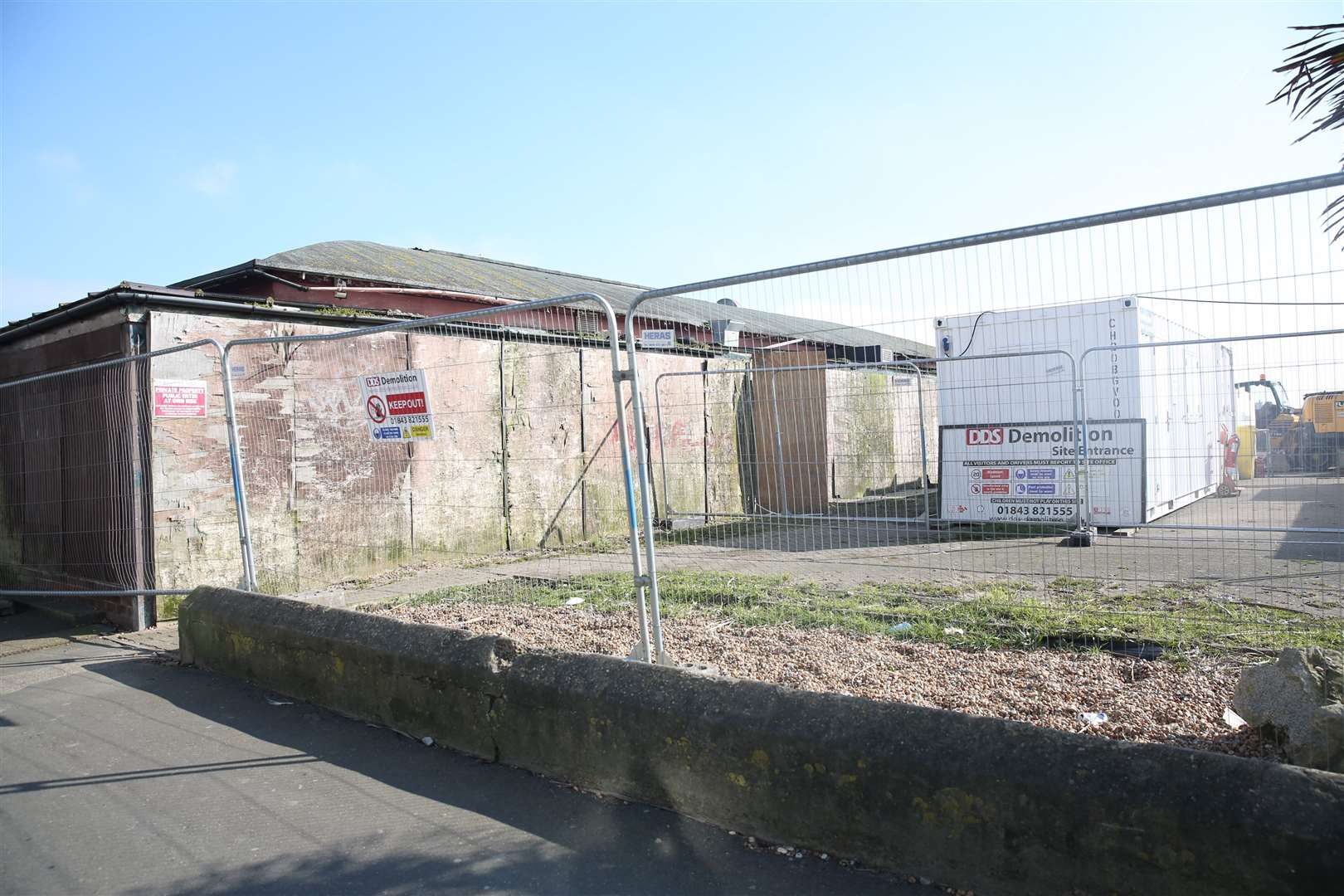 The remains of the Priz nightclub site that was badly damaged in a fire. Picture: Rebecca Holliday