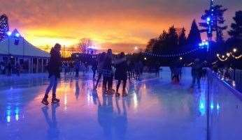 Ice skating will be held in Tunbridge Wells this festive season