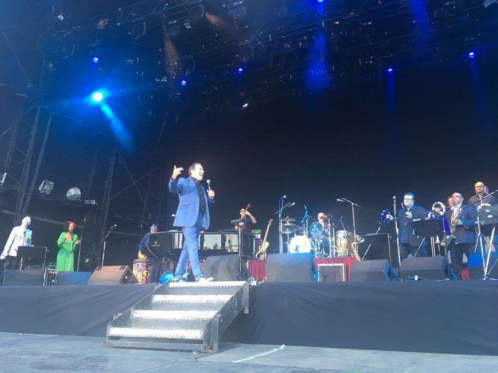 Jools Holland at the Castle Concerts 2018