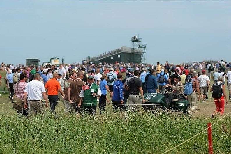 There will be a strict no re-admittance policy for spectators at The Open 2020 Picture: Terry Scott