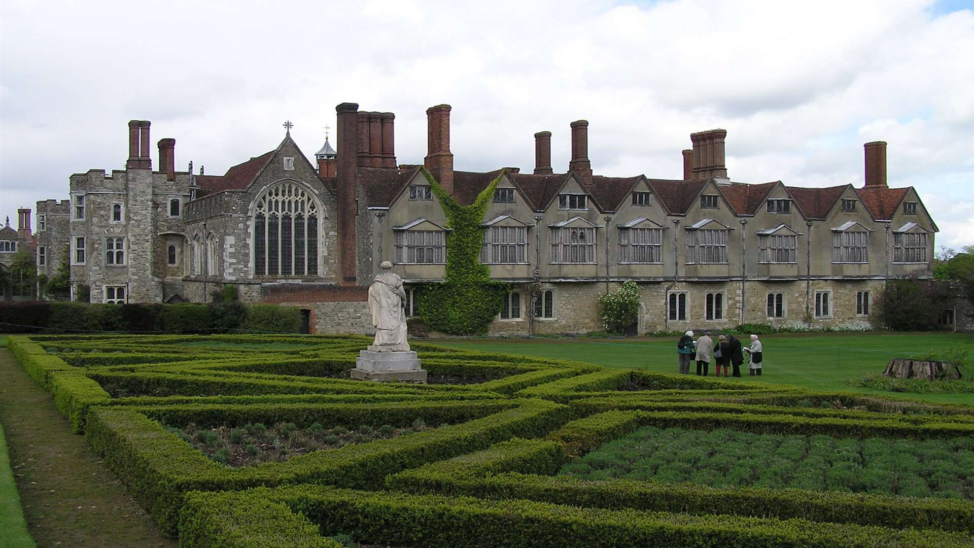 Lord Sackville's garden is a key attraction at Knole