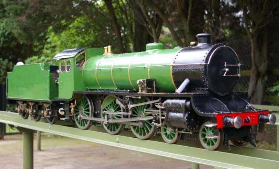 One of the model trains that was taken and is worth thousands of pounds. Picture: GMME (7206004)