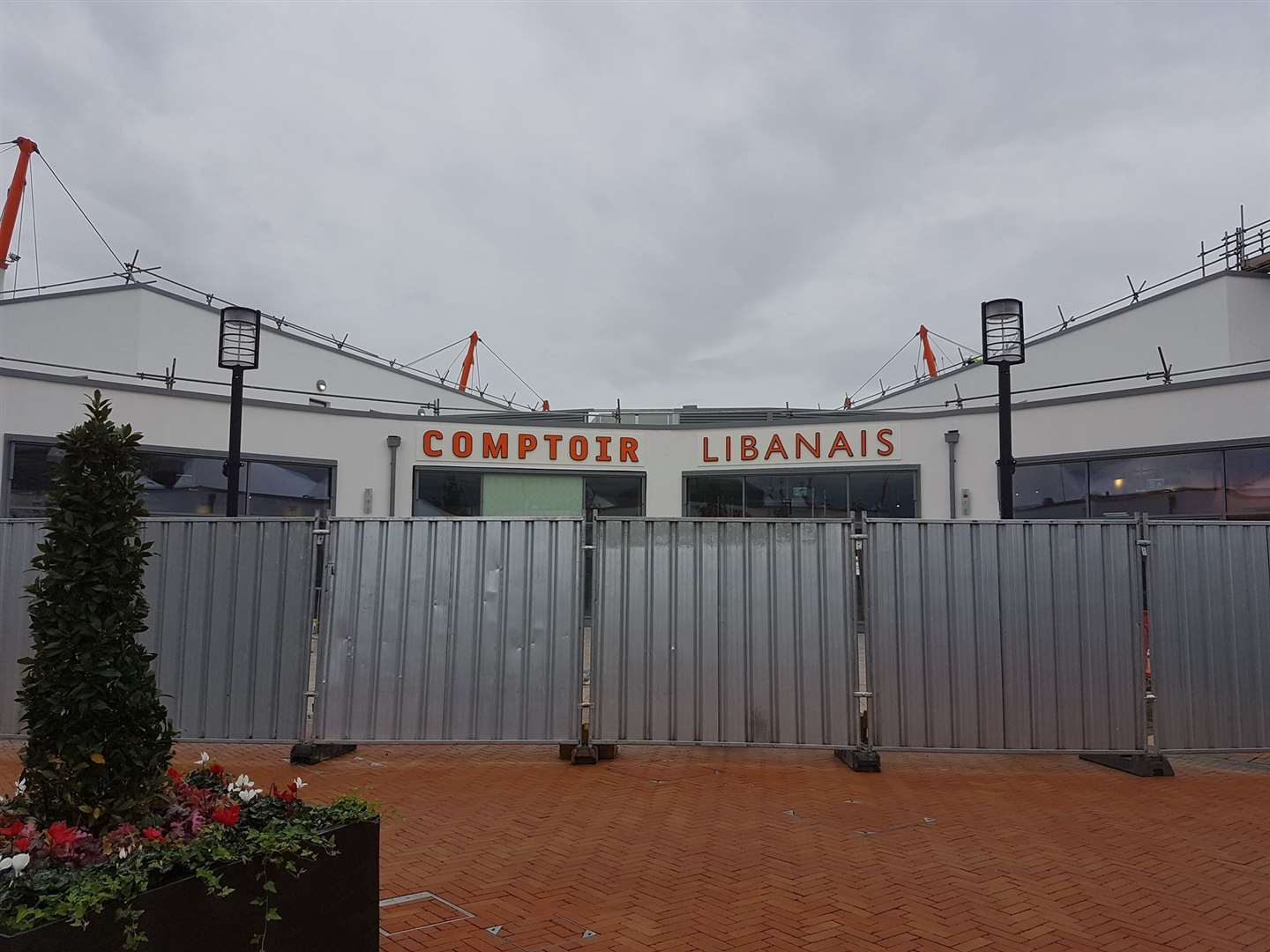 Lebanese restaurant chain Comptoir Libanais signage has gone up (16308696)