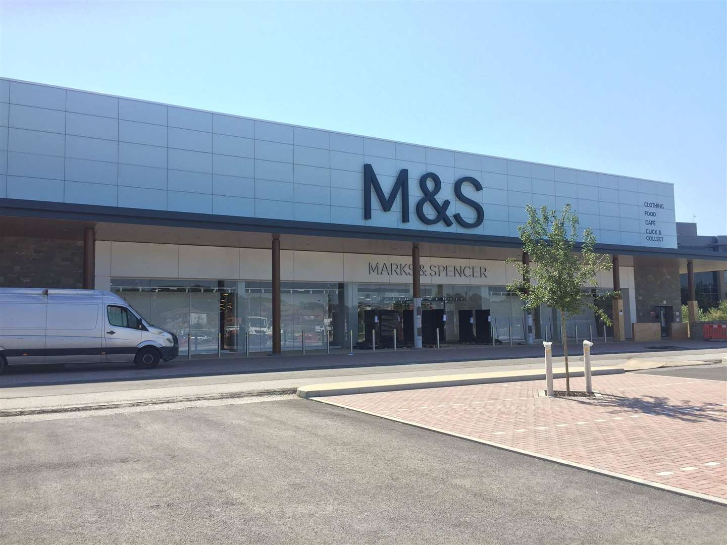 M&S in the Eclipse Retail Park will open next month