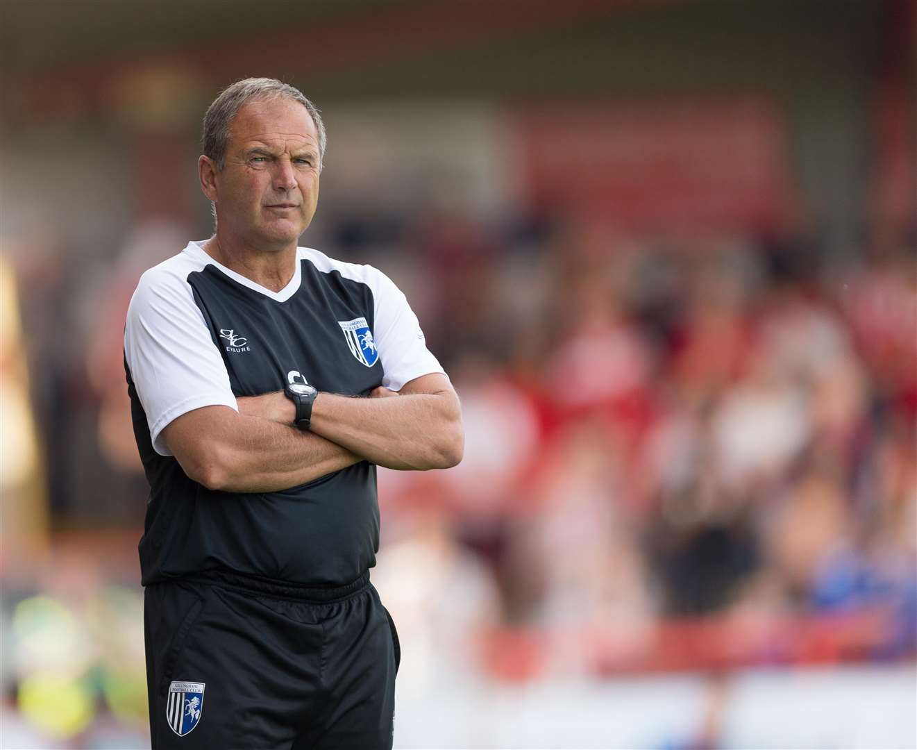 Gillingham boss Steve Lovell is prepared for a change of surface this weekend Picture: Ady Kerry
