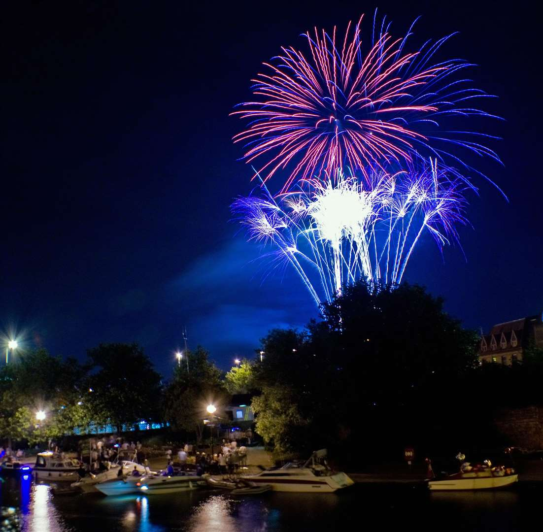 Maidstone River Festival firework finale Picture: Chris Brunt