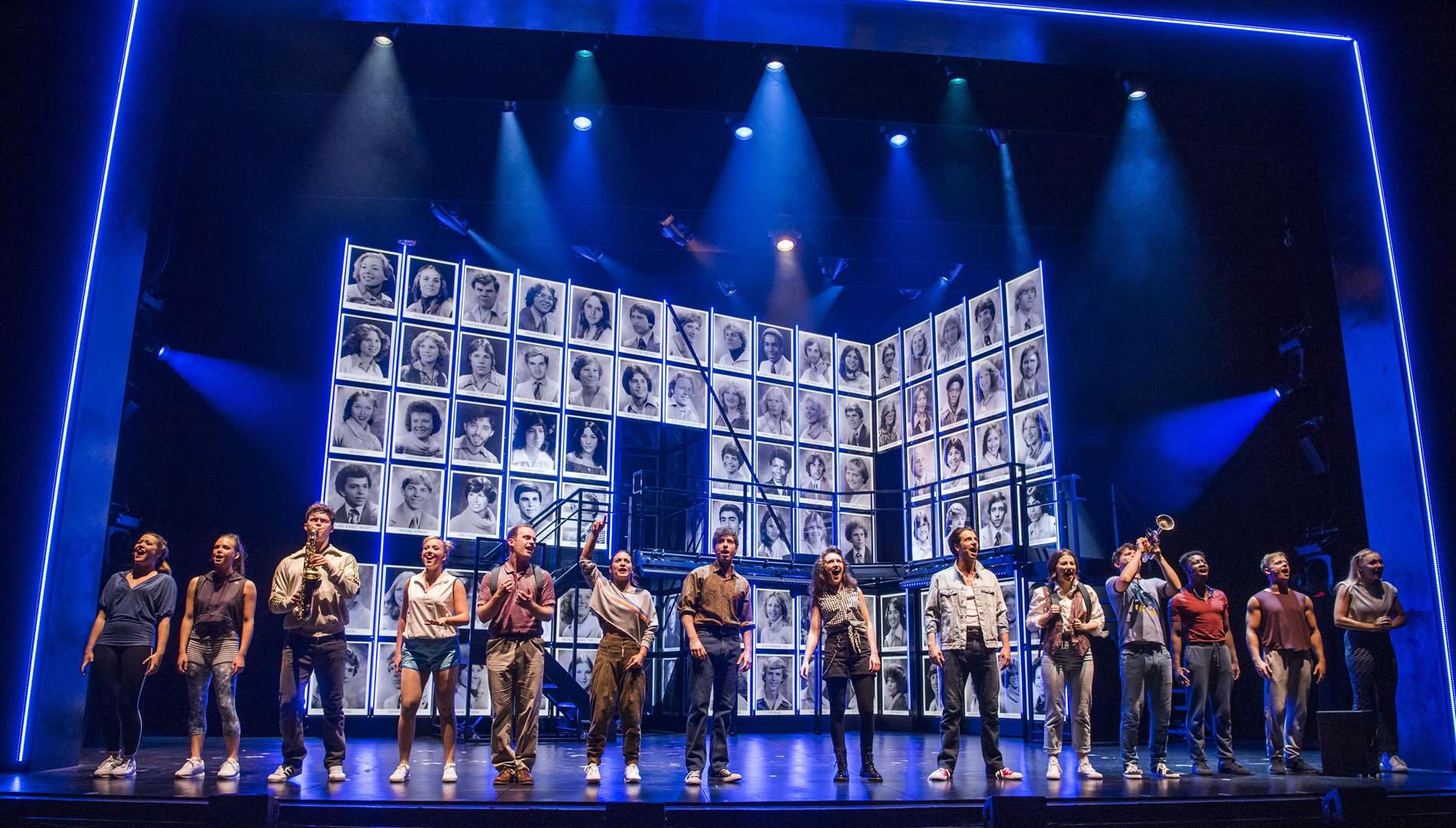 The UK Tour cast of Fame the Musical. Picture: Tristram Kenton (3721687)