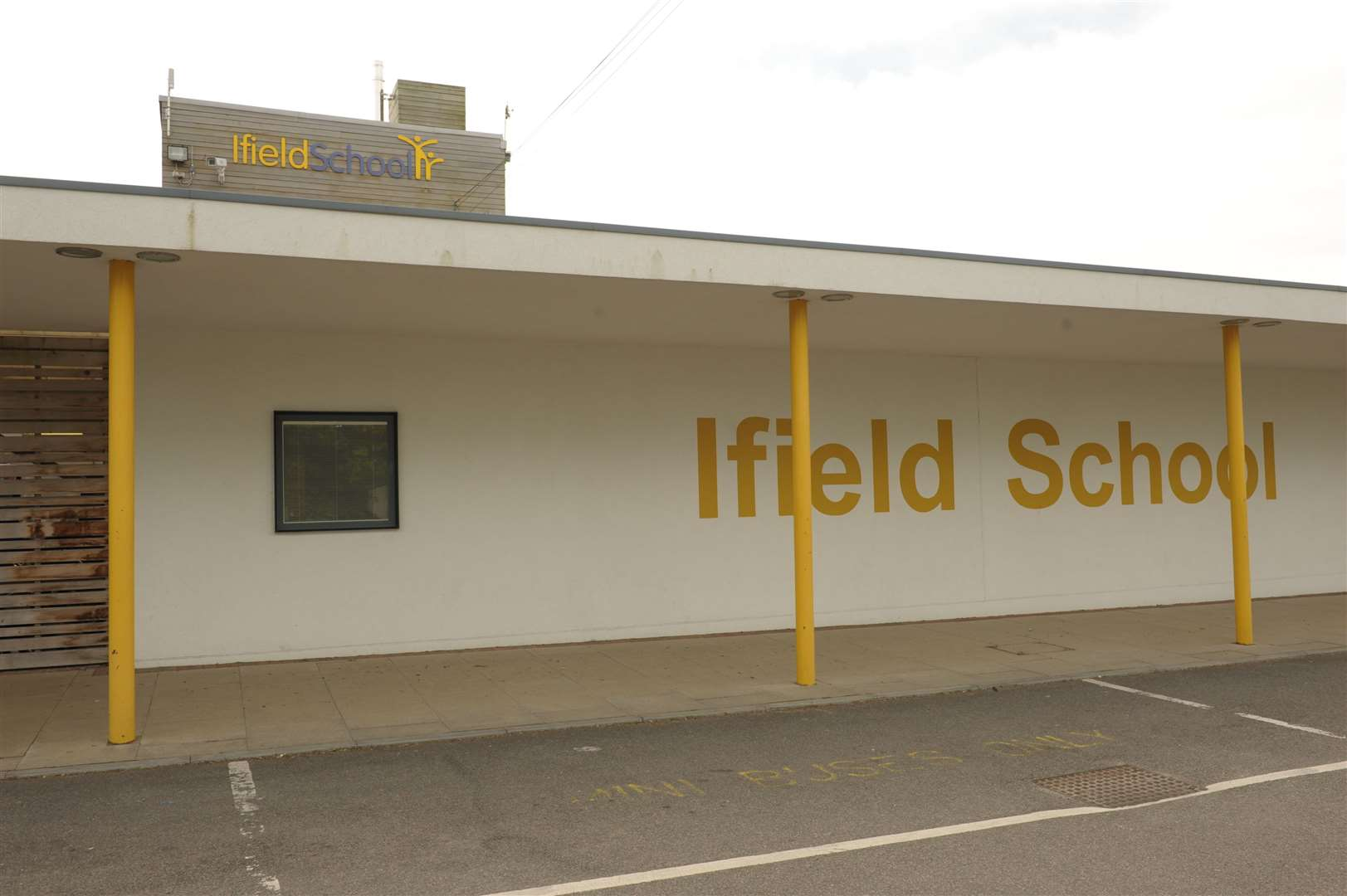 Ifield School caters for nearly 250 pupils but had been open only for a proportion of that number