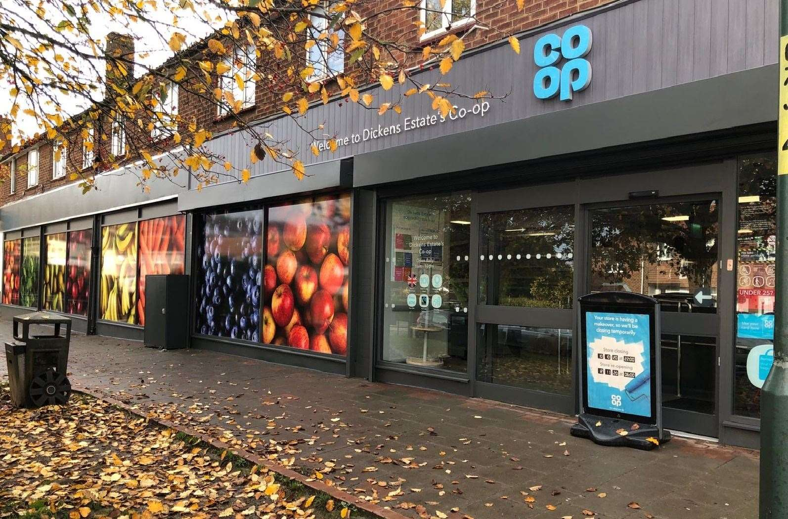 The new-look Co-op on the Dickens Estate in Rochester. Picture: Co-op