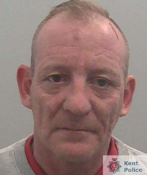 Paul Stacey has been jailed. Picture: Kent Police