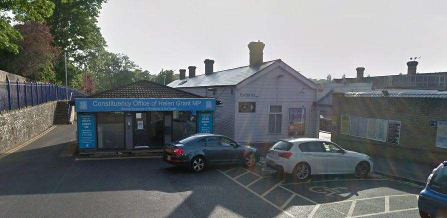 Helen Grant's office next to Maidstone East will be demolished as part of redevelopment at Maidstone East (15185276)