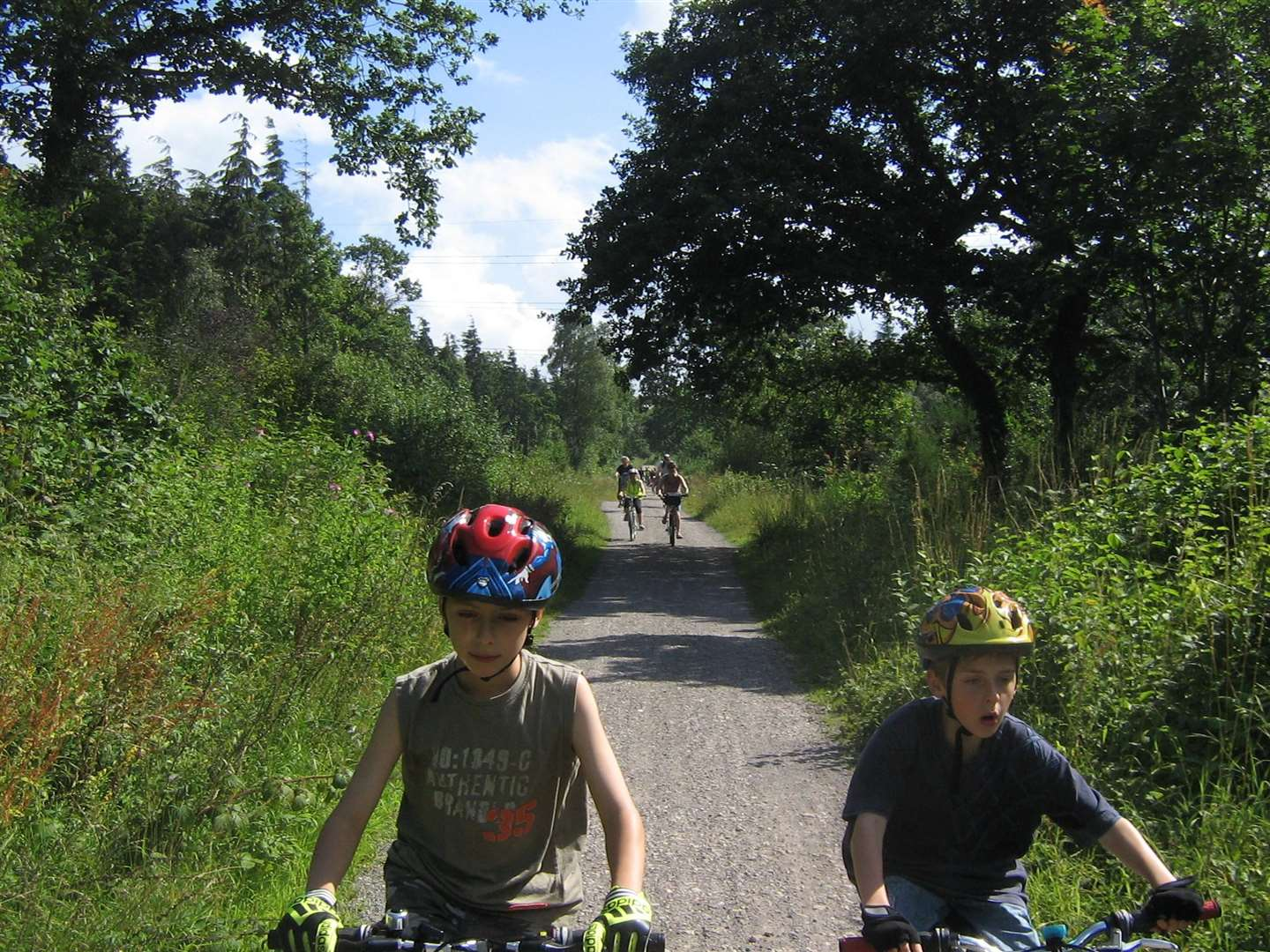 The Crab and Winkle route is popular among cyclists